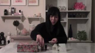 簡単サシェ香り袋の作り方