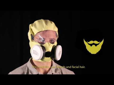 Instructional video - How to wear KIMI PLUS - Chemical Escape Mask Icon