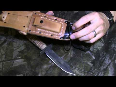 Ontario Air Force Survival Knife Review, Equip 2 Endure