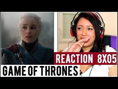 REACTION : Game of Thrones saison 8 épisode 5
