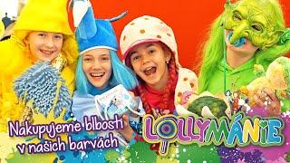 Lollymánie S03E01 - Nakupujeme blbosti v barvách Lollipopz