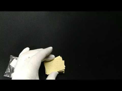 Набор из пяти чистящих губок для паяльника