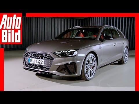 Audi A4 Facelift (2019): Neuvorstellung - Innenraum - Infos - Sitzprobe