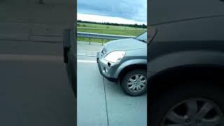 Ребенок проехал за рулем авто по трассе Кемерово-Новосибирск на скорости 100 км/ч