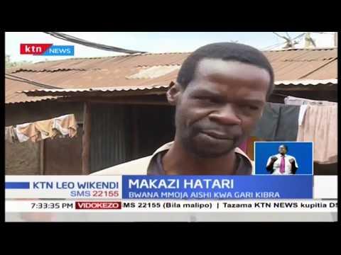 Bwana anayeishi kwa gari Kibera