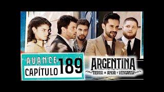"""Avance emitido el jueves 6 de diciembre de 2019 en eltrece, correspondiente al capítulo 189 de """"Argentina, tierra de amor y venganza""""."""