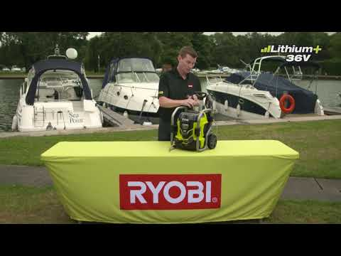 Ryobi 36V Pressure Washer Introduction