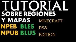 preview picture of video 'MINECRAFT PS3 | TUTORIAL | Explicacion regiones (NPEB;NPUB;BLES;BLUS) + Como cambiarlas'