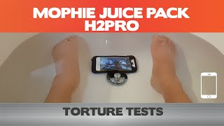Mophie Juice Pack H2Pro Torture Test - IPhone 6 Cases