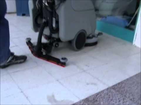 Durclean 43 E elektrikli zemin temizlik makinası