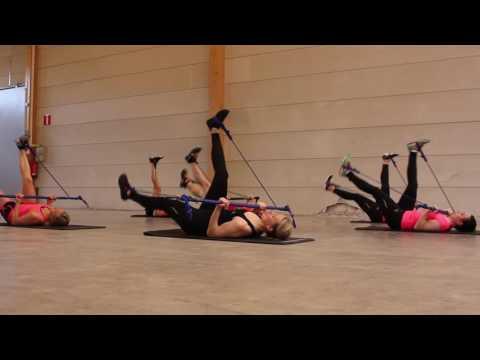 Set pentru antrenament de rezistenta Gymstick Aqua