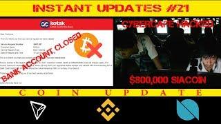Bitcoin & Crypto News (TRON, BNB, ONT)