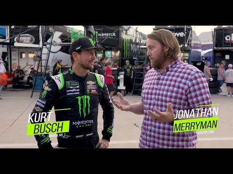Kurt Busch on Roval 'commotion,' advancing in playoffs | NASCAR at Charlotte Motor Speedway