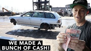 How to Scrap a Car for $$$