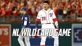 MLB   2019 NL Wild Card Game Highlights (MIL vs WSH)