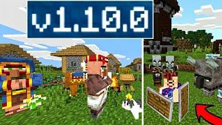 ВЫШЕЛ НОВЫЙ Minecraft PE 1.10.0 - РЕЛИЗ! ДОБАВЛЕНЫ ЩИТЫ, НОВЫЕ ДЕРЕВНИ, НОВЫЕ МОБЫ, ЯГОДЫ! СКАЧАТЬ!