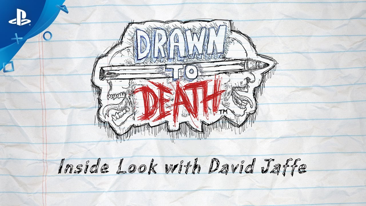 Drawn to Death Launches April 4, David Jaffe on Doodles and Game Design