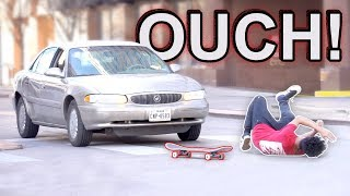 Falling Off My Skateboard Prank