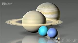 Биткоин  на примере размеров планет и звезд