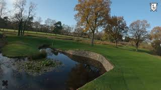 DRJ1ONE - ⌘????⛳️ FPV Drone video of Longcliffe Golf Club (22nd Nov 2020) & Q Follow Stewart Golf