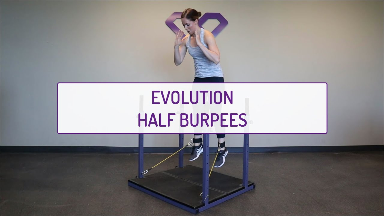 Evolution Half Burpees