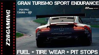 NEW GT SPORT ENDURANCE RACE!! - Tire Wear and Fuel Management