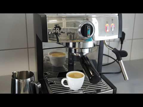 Graef Pivalla Siebträger mit Nespresso-Einsatz im Test
