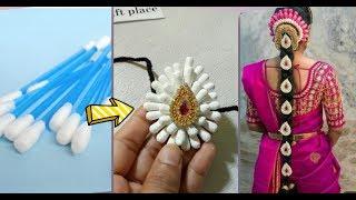 Bridal Hair Accessories/Jadai Billai/Poola Jada Making