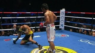 ROUND 3: Pacquiao Vs Matthysse Knockout JULY 15, 2018