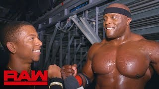 Bobby Lashley and Lio Rush explain their relationship: Raw Exclusive, Sept. 17, 2018