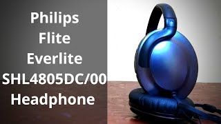 Philips Flite Everlite SHL4805DC Headphone Unboxing and Review