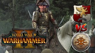 RIDE NOW, KNIGHTS OF THE BLAZING SUN | Empire vs Norsca - Total War Warhammer 2
