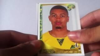 UNBOXING: Blister Panini Copa América Centenario USA 2016 | 6x packs #9