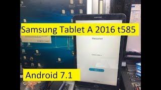 Samsung Tab T585 U5,U4 Binary 5,4 Frp Bypass Google Account