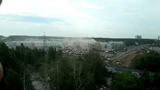 Пожар в ТУ «Порт» в Казани