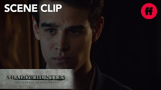 Shadowhunters | Season 2, Episode 15: Simon And Clary Remain Friends | Freeform