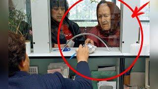 ბანკის მოლარეს დაეზარა მოხუც ქალს მომსახურებოდა,ქალმა კი ისეთი რამე უთხრა ყველამ ტაში დაუკრა!