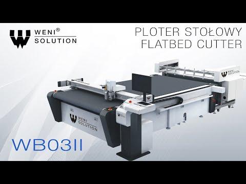 Ploter Stołowy WB03II - prezentacja urządzenia / Flatbed Cutter WB03II - device showcase - zdjęcie