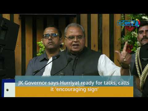 JK Governor says Hurriyat ready for talks, calls it 'encouraging sign'