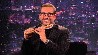 Steve Carell shows Tom how to play the fife on TOM GREEN LIVE