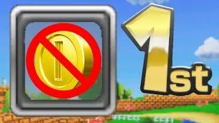 Mario Kart 7 Item Smuggling COINLESS Challenge!