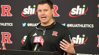 Nunzio Campanile talks win over Liberty -- Rutgers Scarlet Knights Football