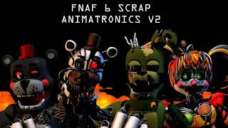 Cinema 4D Scrap Animatronics v2