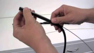 Replacing Wiper Inserts - Japanese OEM 'Aero' Blades