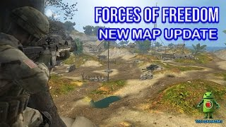 FORCES OF FREEDOM - NEW MAP UPDATE GAMEPLAY (iOS / Android)