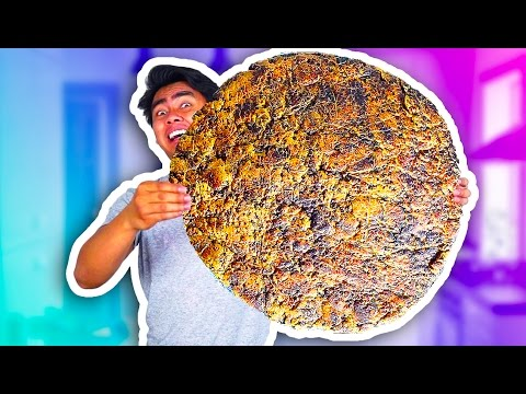 WORLD'S BIGGEST CHOCOLATE CHIP COOKIE!! (100+ LBS)