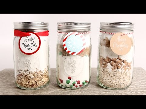 3 DIY Baking Mixes - Edible Gifts