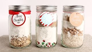 3 DIY Baking Mixes - Edible Gifts