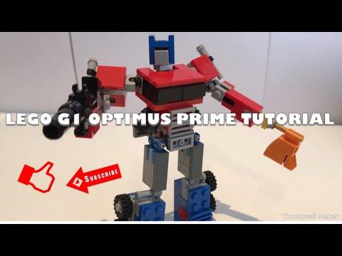 Lego Transformers G1 Optimus Prime Instructions