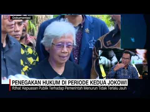 Nyarwi Ahmad PhD Presidential Studies-DECODE UGM Pemerintahan Jokowi: Kepuasan Publik Bidang Hukum